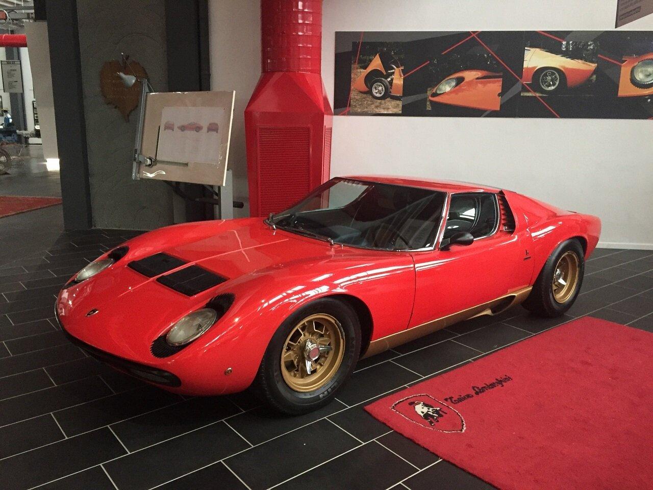 Ferruccio Lamborghini Museum Tour Italian Factory Motor Tour