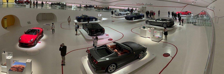 Italian Sports Car Factory Tours
