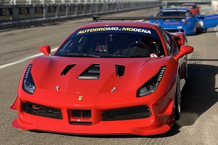 Test Drive on Track Ferrari